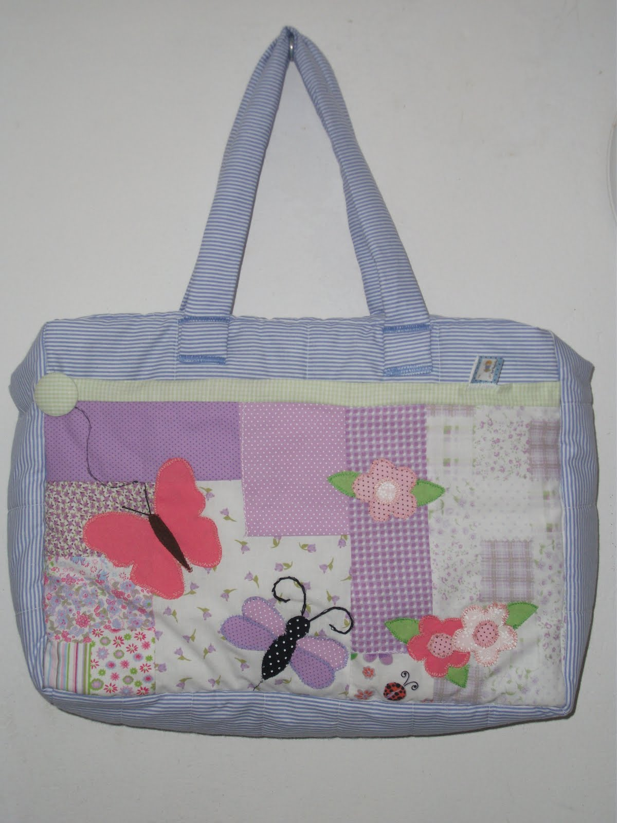 Bolsa De Tecido Bebe : Art sapeka bolsa de beb? patchwork