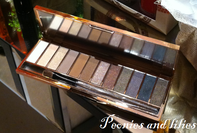 M&S autograph naked eyeshadow palette, Marks and spencer naked palette, M&S spring 13,