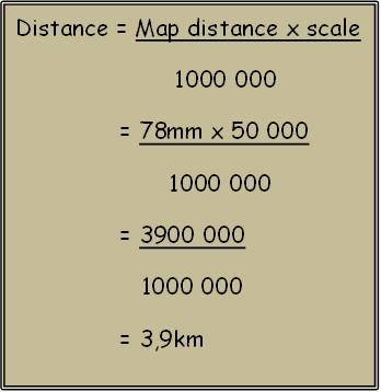 Easy mapwork: Mapwork calculations
