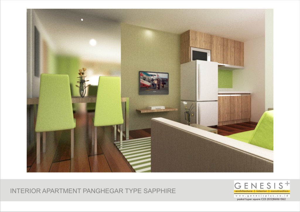 Interior Design Small Apartment Jakarta
