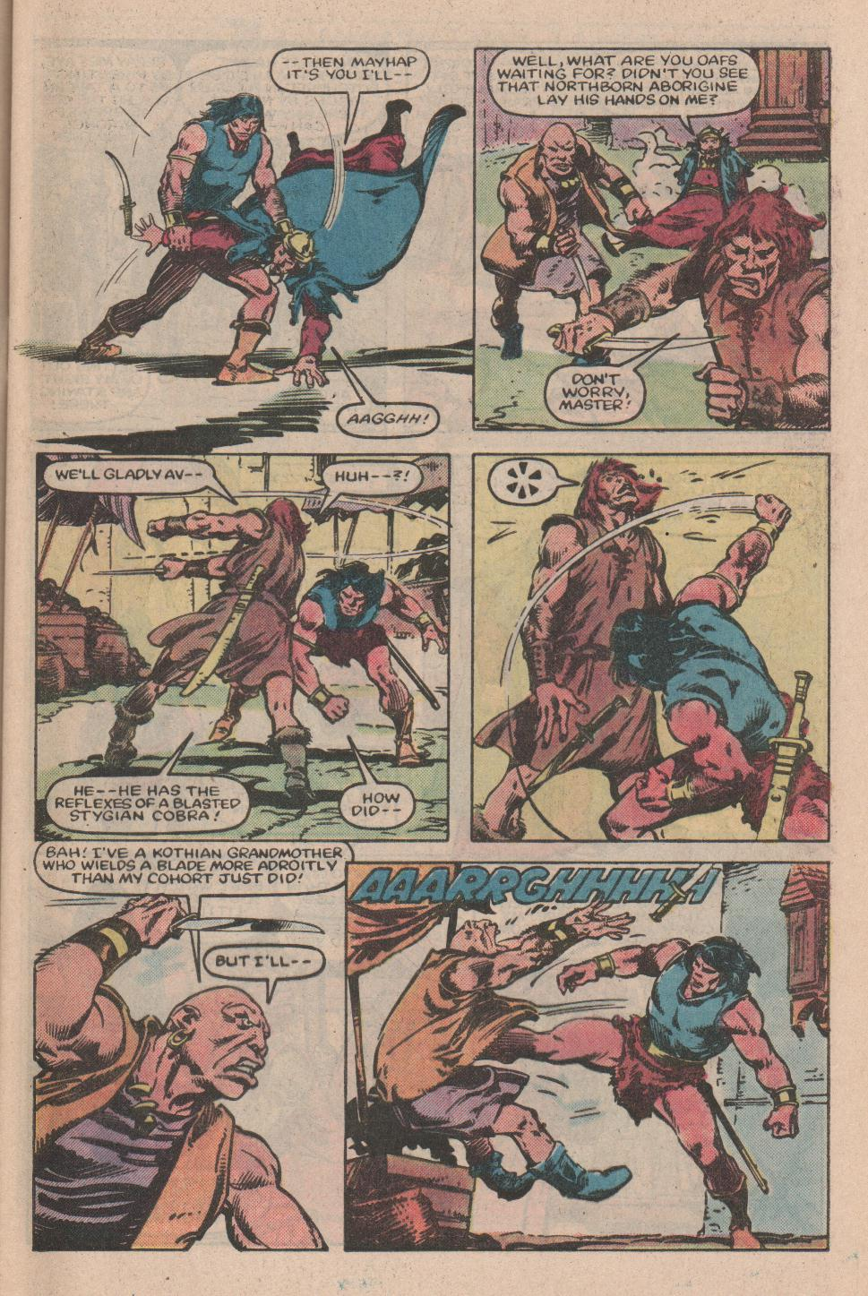 Conan the Barbarian (1970) Issue #155 #167 - English 6