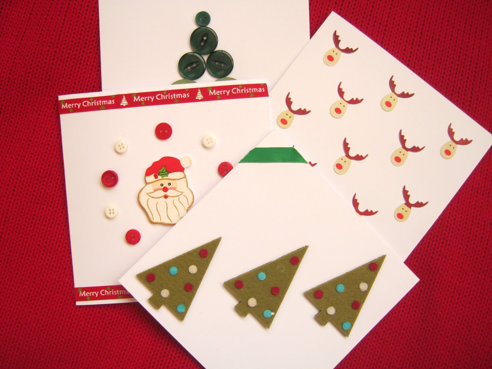 Fun and easy handmade christmas cards shona louise ive linked to where i bought everything ive used if possible so just click on the words in bold to find out where to buy get supplies for making your own kristyandbryce Image collections
