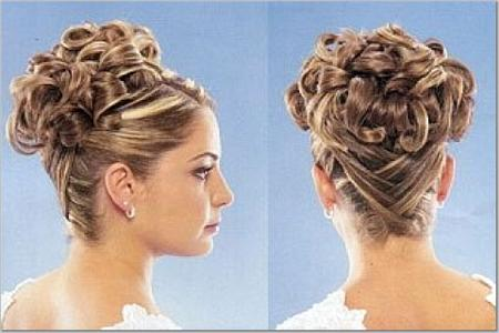 Bridal Hairstyle on Fashion And Lifestyle  Bridal Hair Style 1