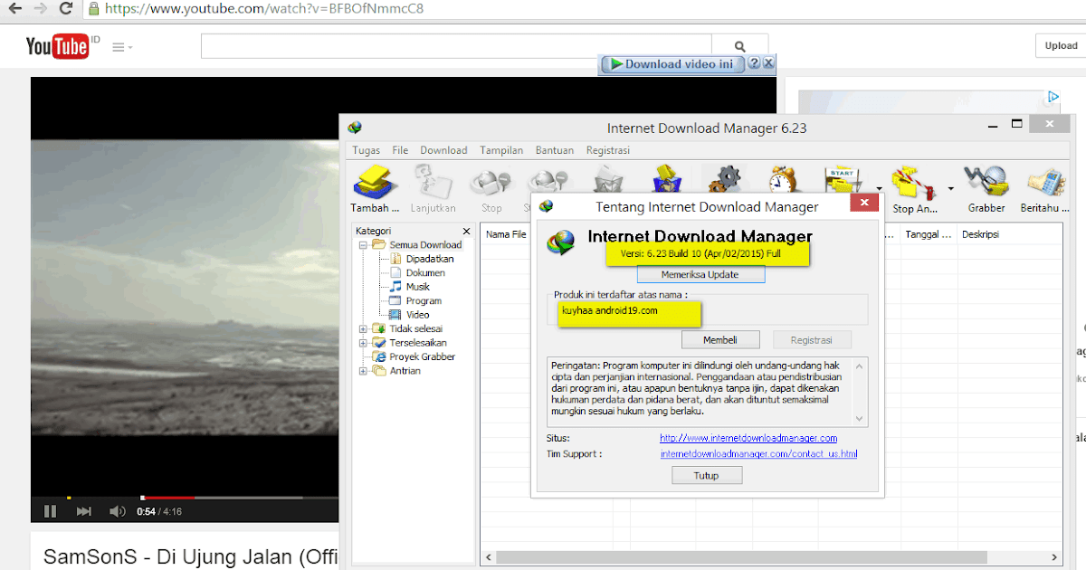 INTERNET DOWNLOAD MANAGER 626 FULL 2016 - YouTube