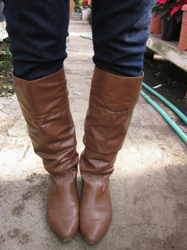 brown boots via Target (Fall 2011)