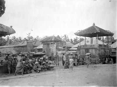Ubud Market 1912
