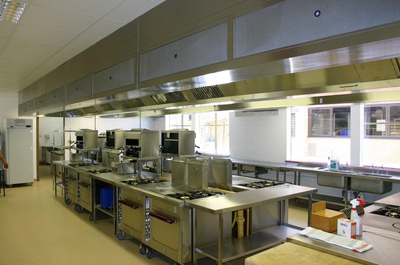 Todoproductividad ventilaci n eficiente en las cocinas for Distribucion de cocinas industriales