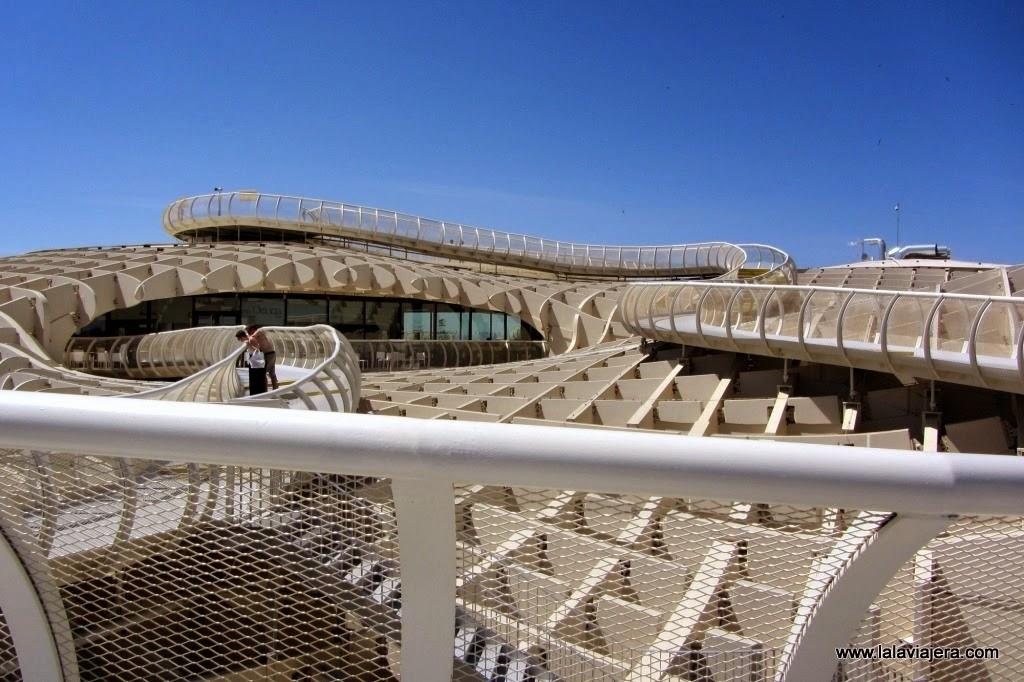 Metropol Parasol, Setas Encarnacion Sevilla