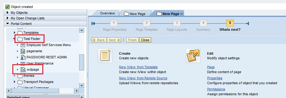 How to create a Web Dynpro Page in SAP EP onlysapep.blogspot.in only sap ep  blogspot