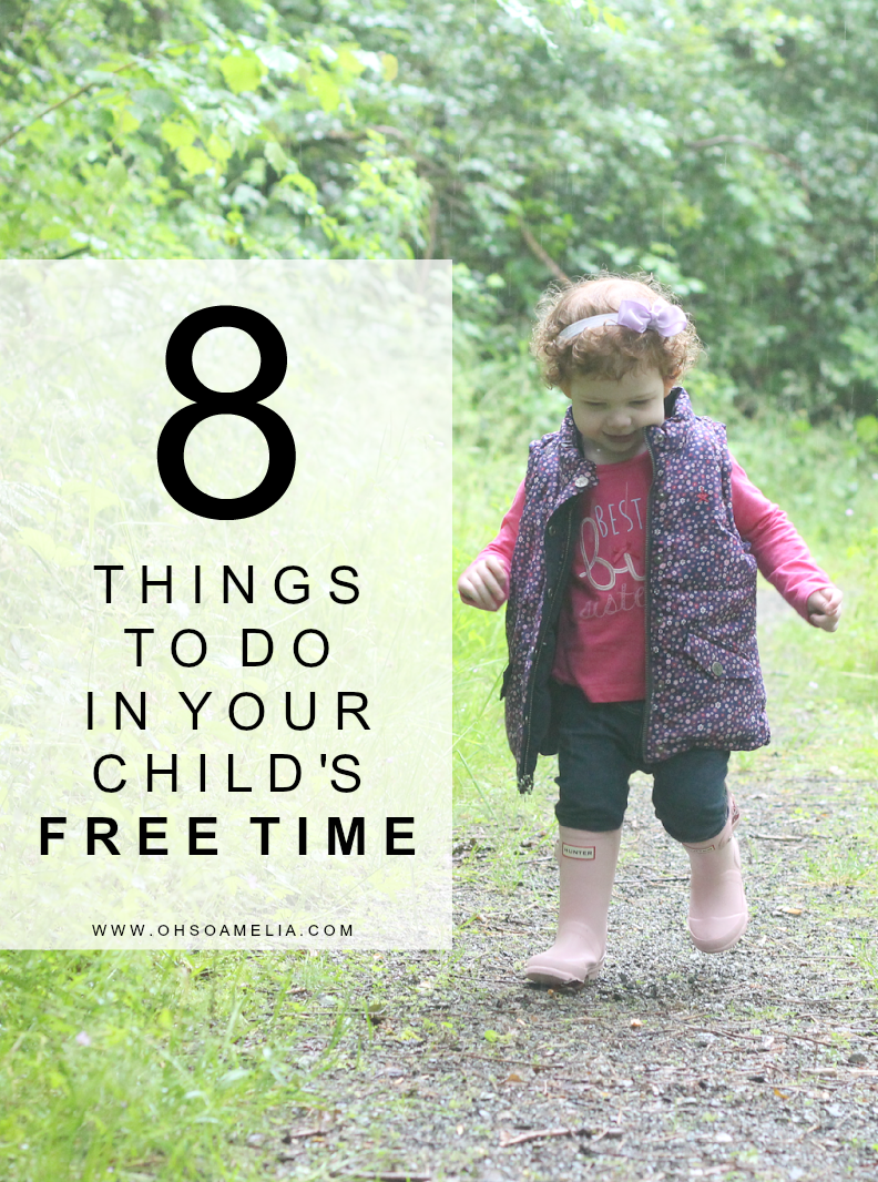 8 Things To Do In Your Child's Free Time