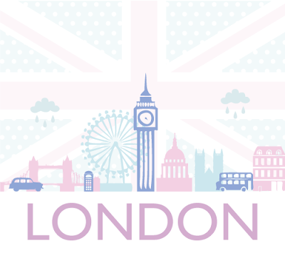 London graphic by Torie Jayne