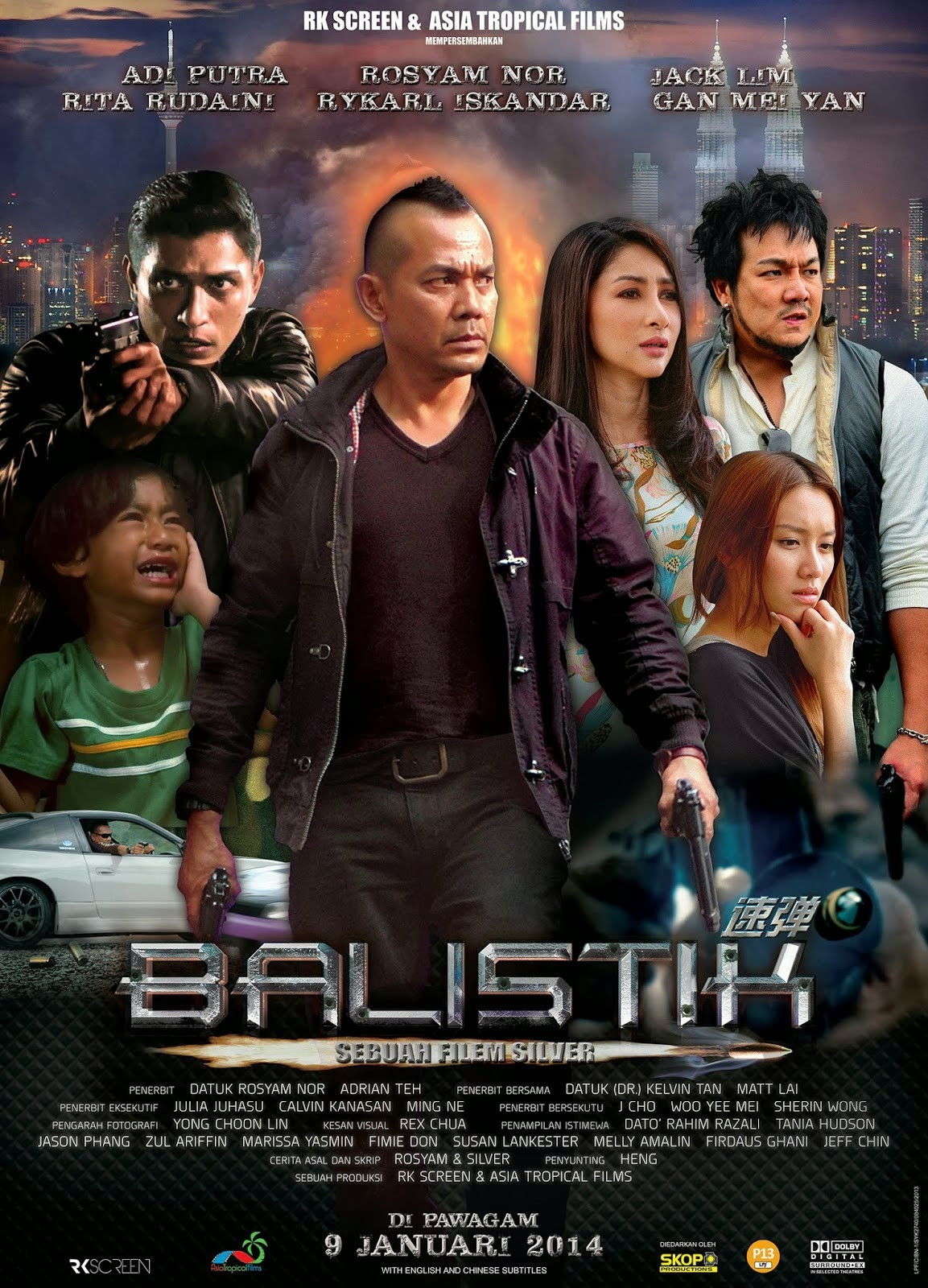 Tonton Filem Balistik Full Movie Streaming