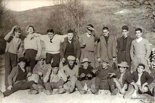 Mozos de Candelario Salamanca en la Mata Peña
