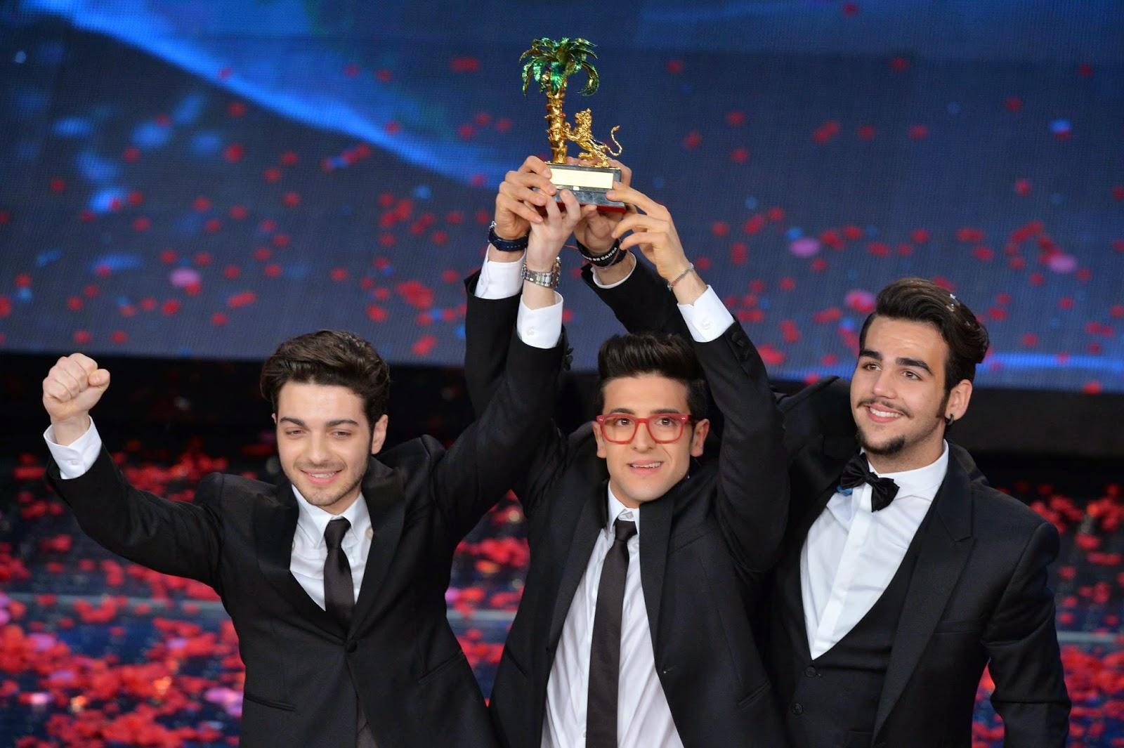 Il volo vincitori Sanremo 2015
