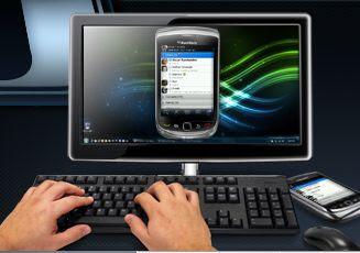 BlackBerry Messenger langsung di komputer