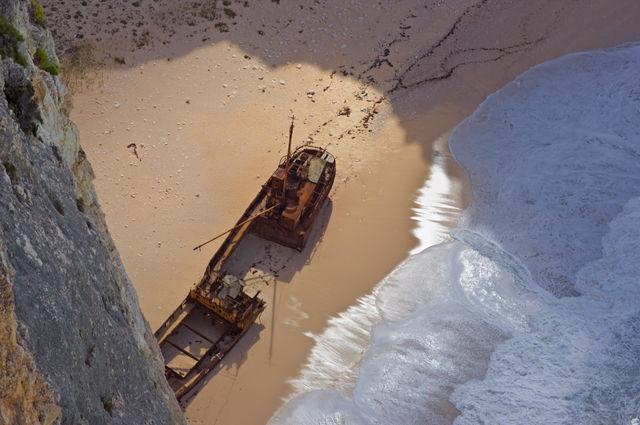 """Παναγιώτης. Παραλία Αγίου Γεωργίου, Ζάκυνθος 1982 """"Ναυάγιο"""""""