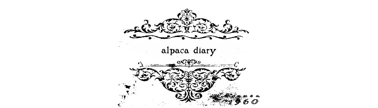 alpaca diary