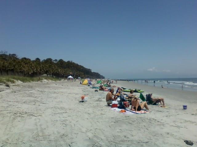 Water Temperature Hunting Island Sc