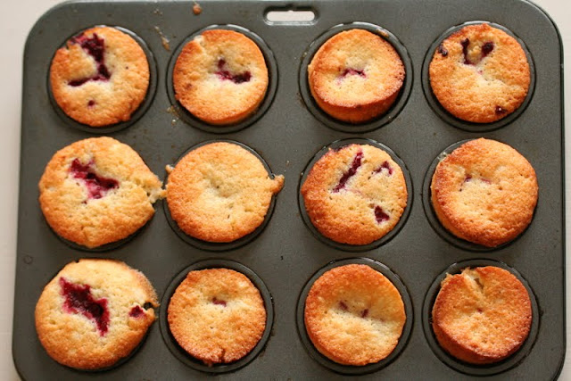 easy recipe Raspberry Friands
