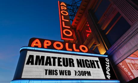 Sorry, Its amateur night at the apollo creed