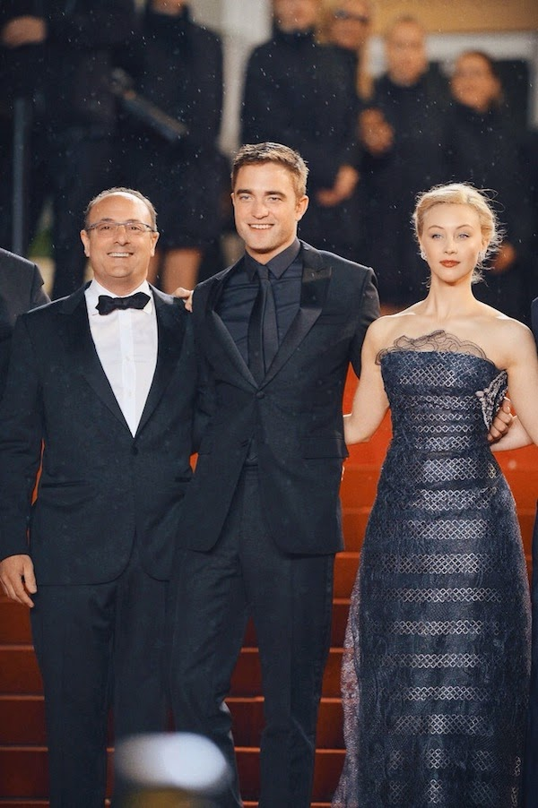 Robert Pattinson in Dior Homme - 'Maps to the Stars' Premiere, The 67th Annual Cannes Film Festival #Cannes2014