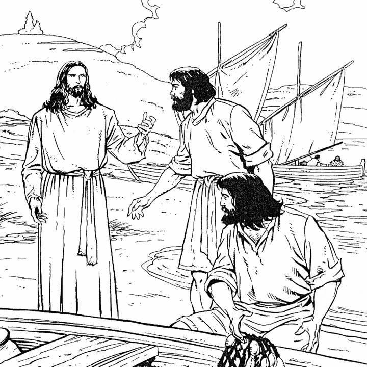 Evangeliza o esp rita infantil aula os ap stolos for Andre caplet le miroir de jesus