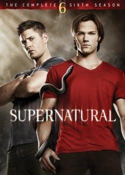 Capa do Seriado Supernatural 6ª Temporada HDTV Legendado | Baixar Seriado Supernatural 6ª Temporada HDTV Legendado Grátis