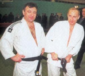 Arkady Rotenberg & Vladimir Putin Judo