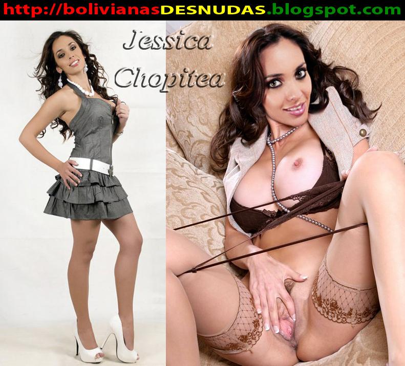 Jessica Chopitea Desnuda