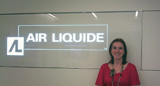 Nicole Aquais got a job at American Air Liquide
