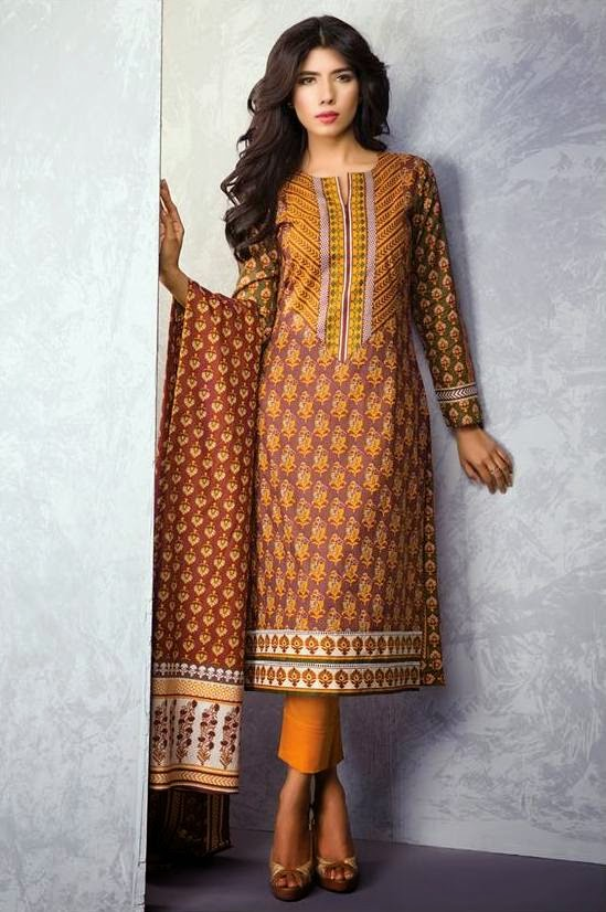Satrangi Lawn Prints Collection  2015