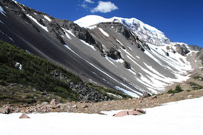View of North Side of Burroughs Mountain