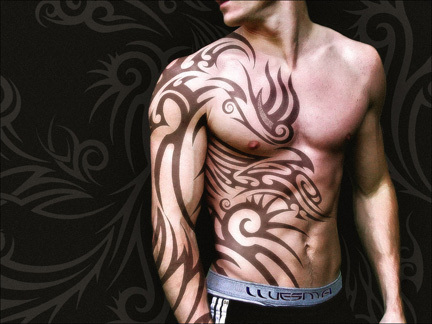 shoulder tattoo tribal. were the tribal tattoo