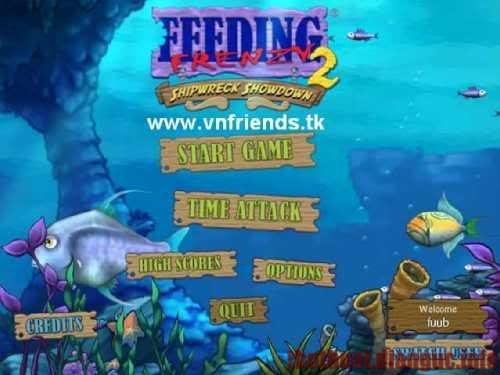 Download Feeding Freenzy 1,2 full crack – Cá lớn nuốt cá bé