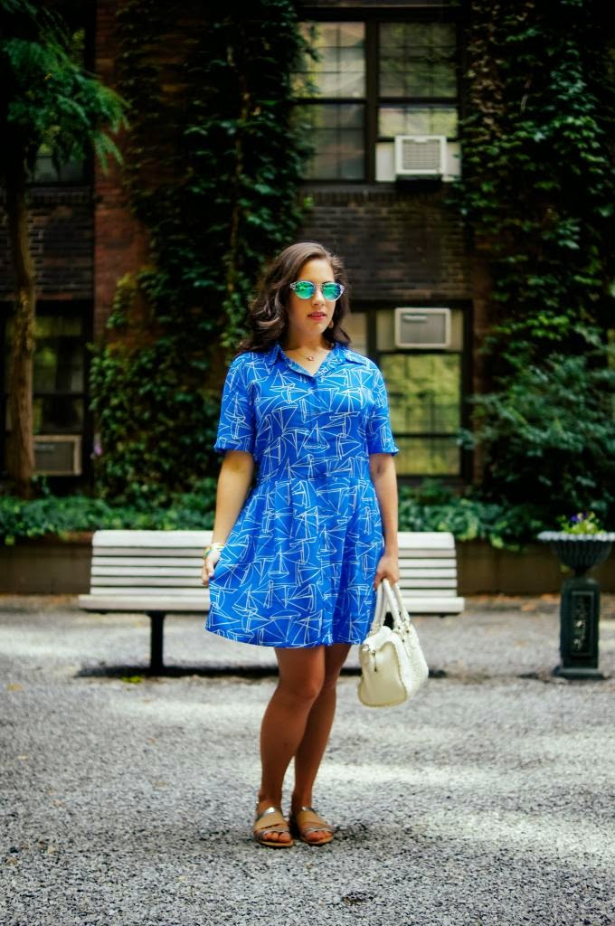 Nautical Outfit of the Week: A Sequin Love Affair