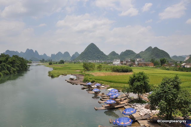 The Yulong River,Yangshou, China