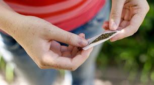 Adolescentes enganchados al cannabis