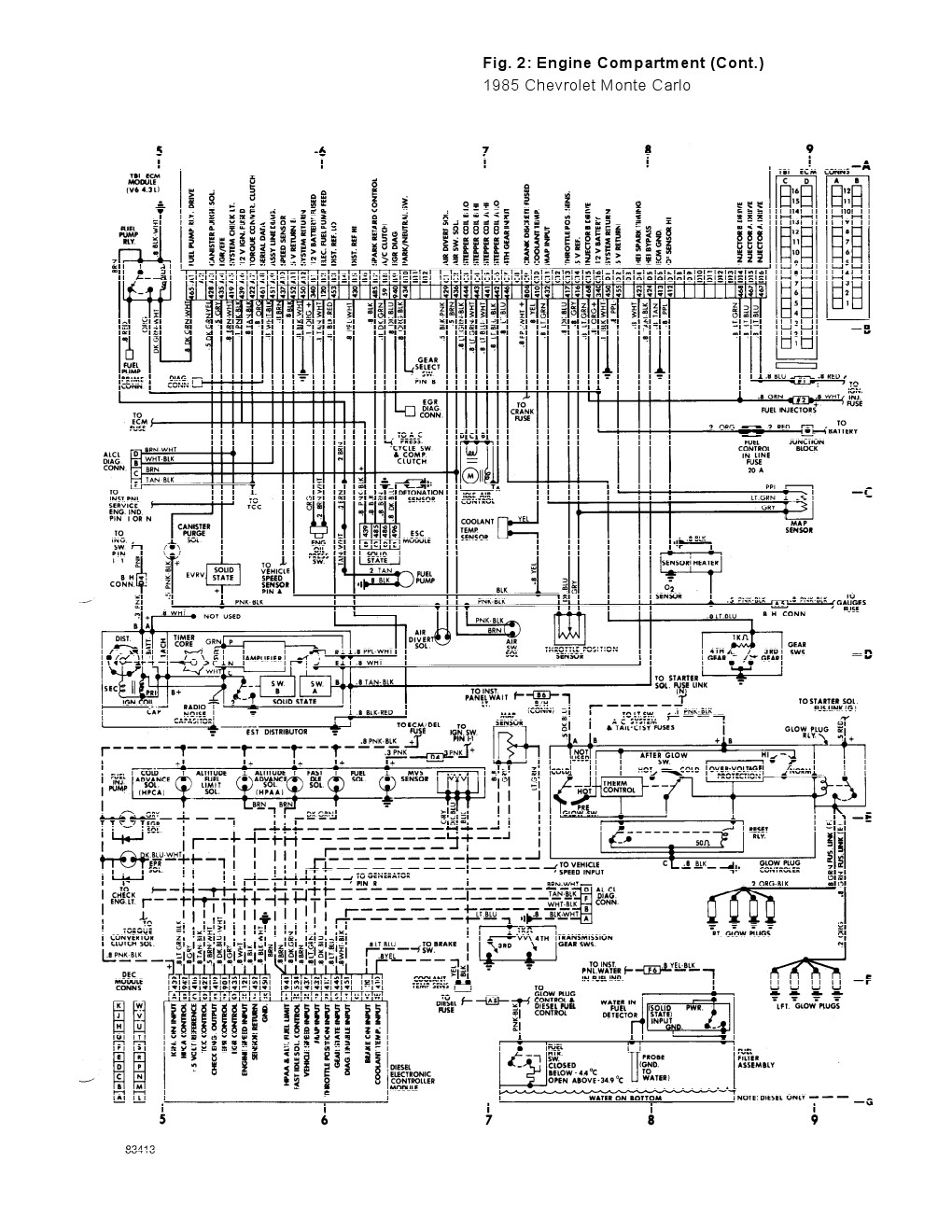 engine wiring diagram 2000 monte carlo ss 3 8 get free image about wiring diagram 2003 Monte Carlo Serpentine Belt Diagram 2003 monte carlo engine diagram