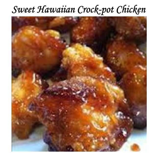 ... crock pot chicken 2lb chicken tenderloin chunks 1 cup pineapple juice