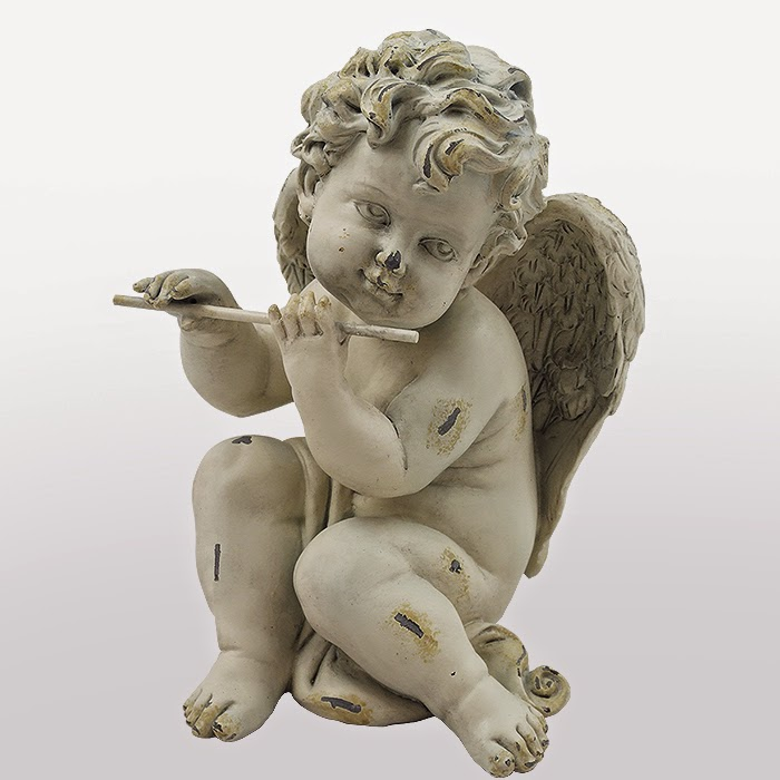 PUTTO SUONATORE CON PIFFERO