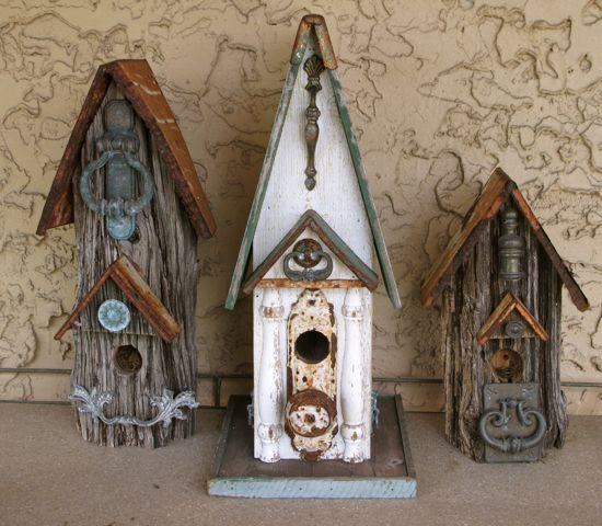 Weird Bird Studio Bird Houses Can You Have Too Many