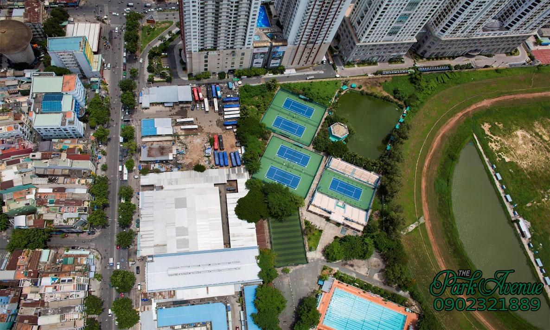 View thực tế khu đất dự án The Park Avenue
