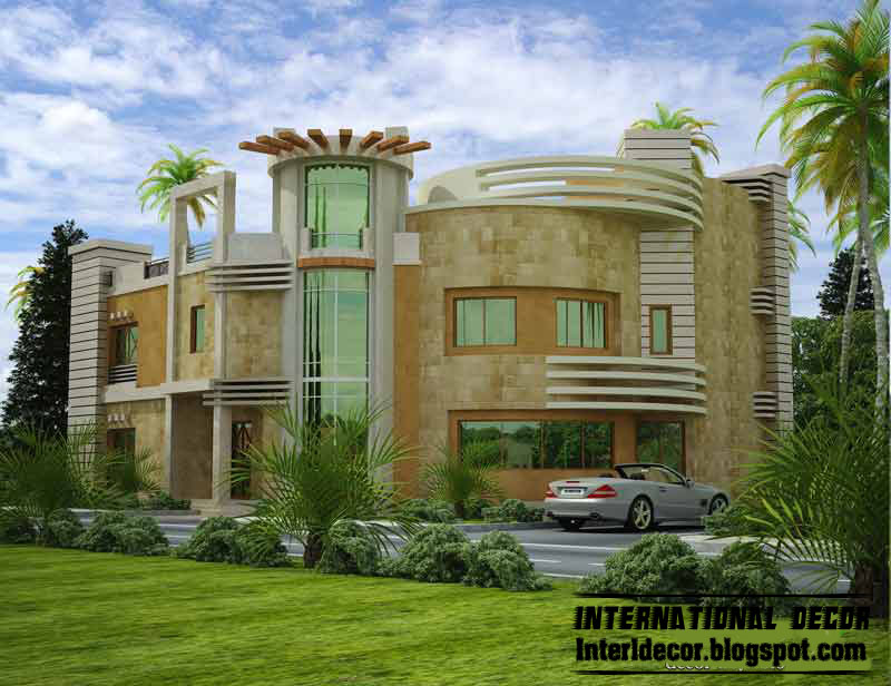 International villas designs modern villas designs Design house international
