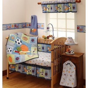 multi sport themed bedding collection
