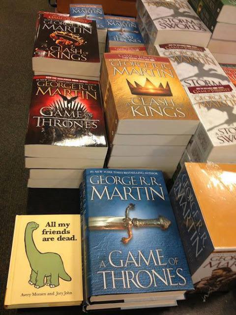 libro dinosaurio cdhyf - Juego de Tronos en los siete reinos