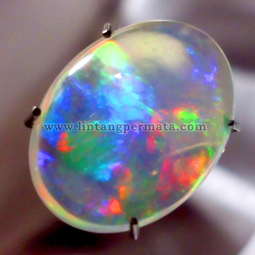 Batu Permata Opal Kalimaya Natural Jual Harga Murah Garansi Asli