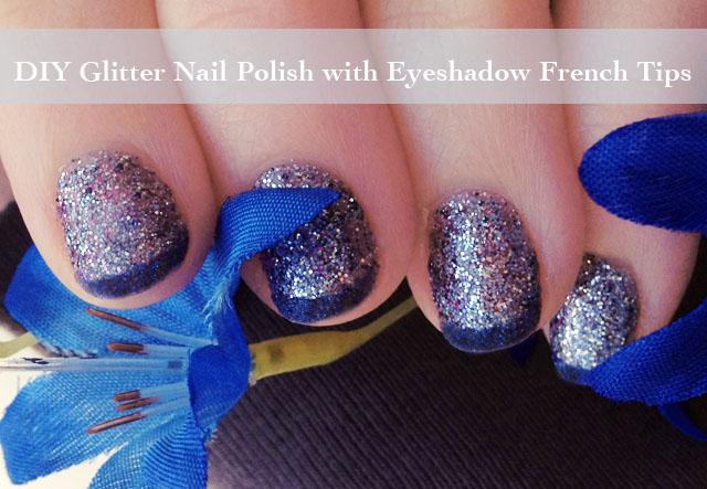 Diy Glitter Nail Polish