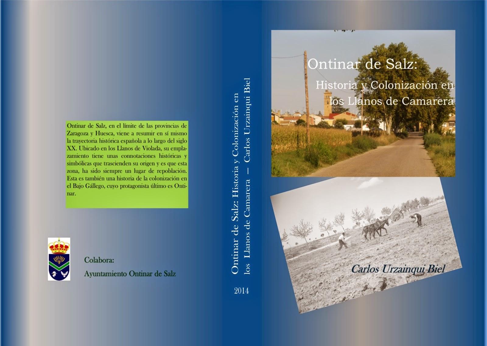 http://www.bubok.es/libros/236674/Ontinar-de-Salz-Historia-y-Colonizacion-en-los-Llanos-de-Camarera