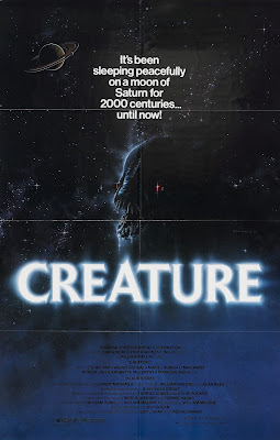 creature poster 1985 cover