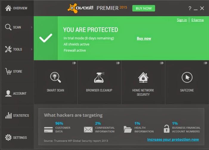 Avast Premier 2015 Full License Crack